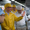 Tim Cook visits Foxconn