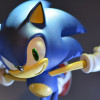 Modern Sonic the Hedgehog figurine coming from First 4 Figures