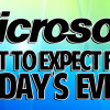 Today's Microsoft Event – What To Expect
