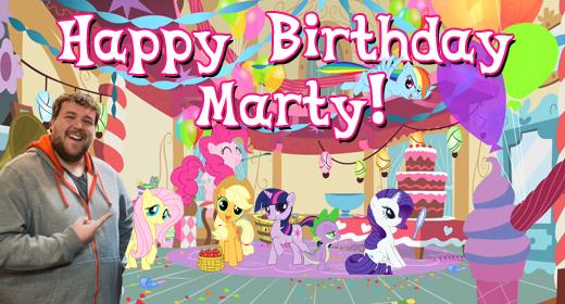 Happy Birthday Marty